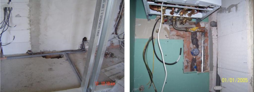 Moje cesta knavrhování interiérů... - obrázky ze stavby bytů